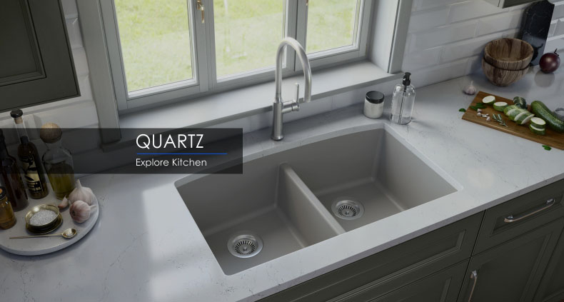 Granite/Quartz Collection by Karran