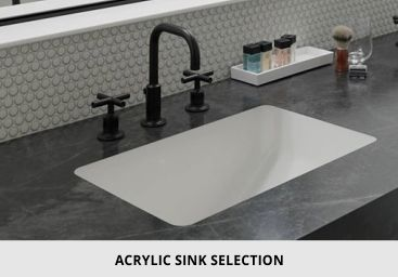 Bathroom Acrylic Sink