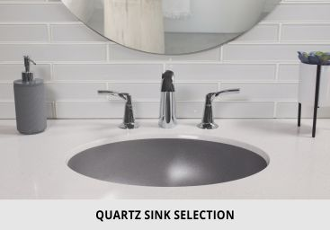 Bathroom Quartz SInk