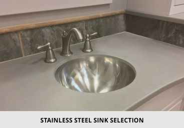 Bathroom Stainless Steel Sink
