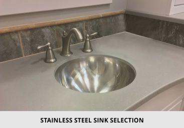 Bathroom Stainless Steel Sink