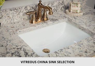 Bathroom Vitreous China Sink